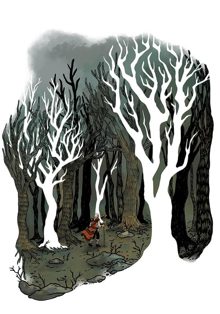 Desislava Georgieva - The Mountain's Pulse Illustration no.1
