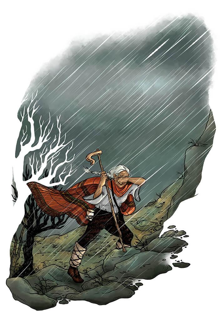 Desislava Georgieva - The Mountain's Pulse Illustration no.2