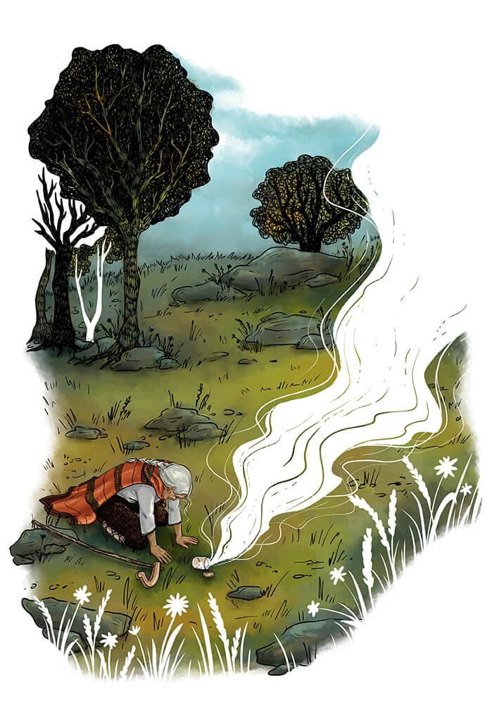 Desislava Georgieva - The Mountain's Pulse Illustration no.3